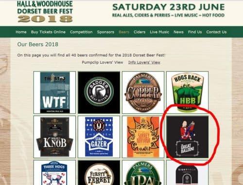 Dorset Beer Great Baldini Magic