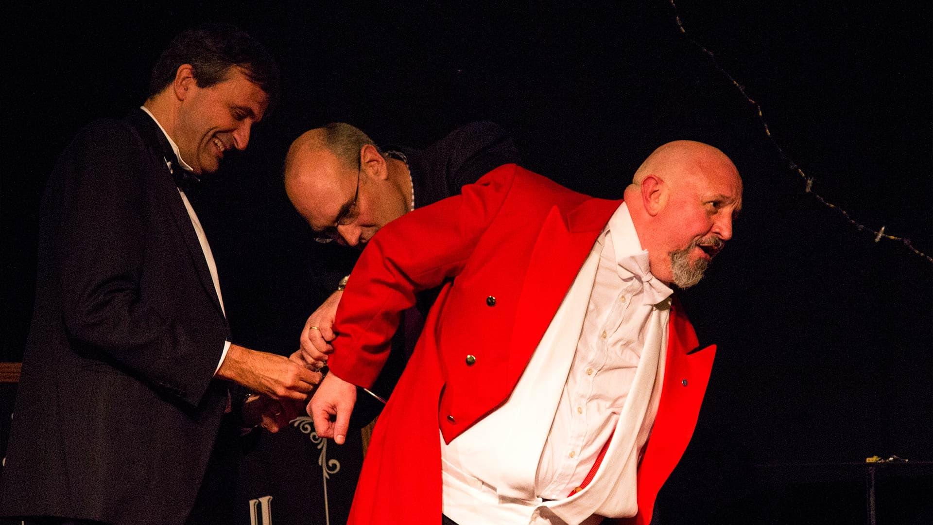 The Great Baldini, Dorset Magician, amazing guests.