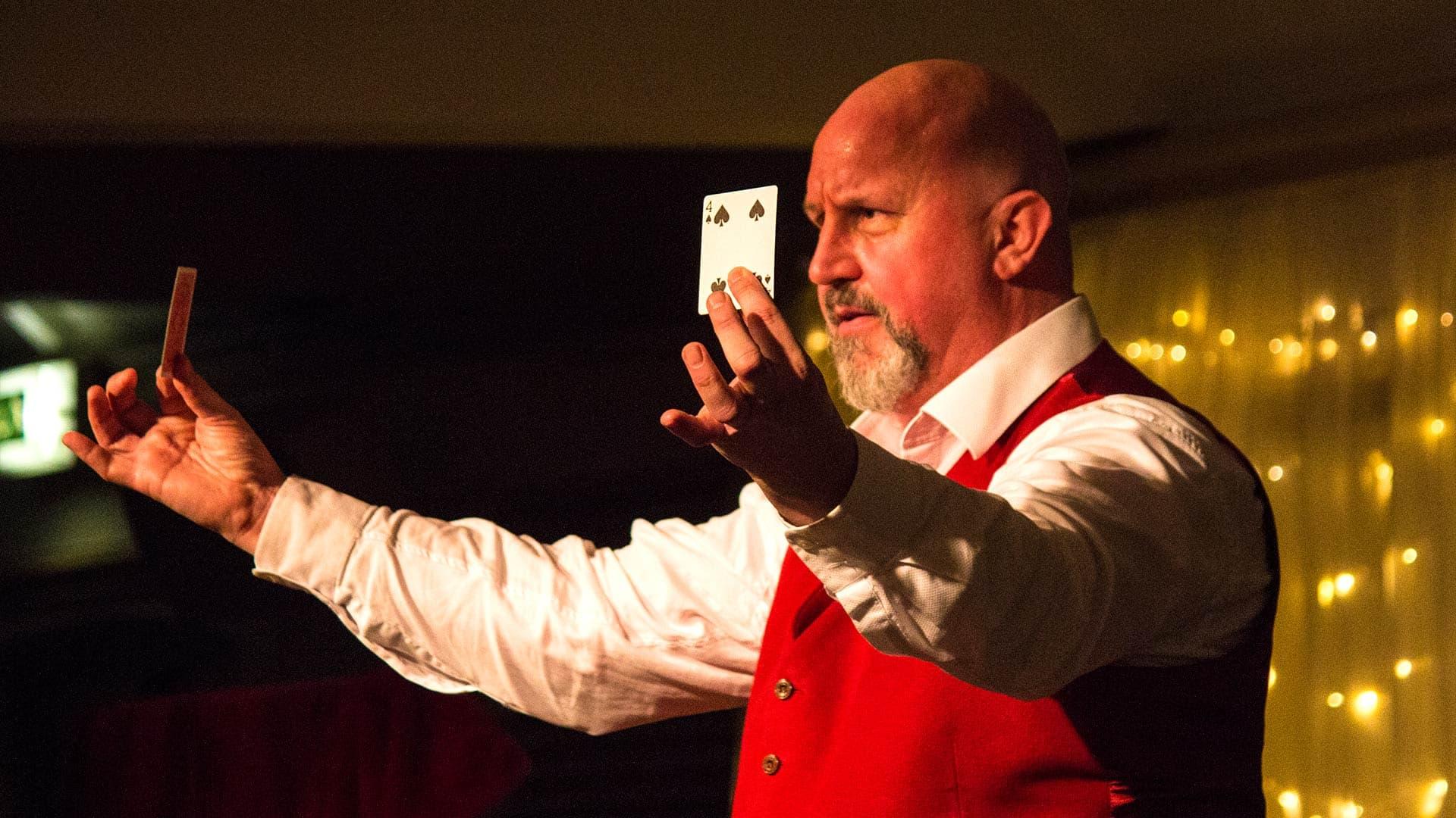 Bristol Magician the Great Baldini is an award-winning member of the Magic Circle